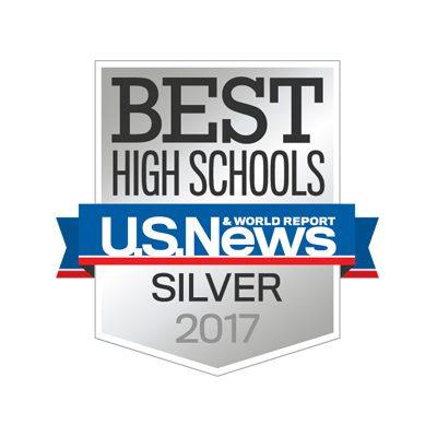 U.S. News Best High Schools – Silver 2015, 2016, 2017
