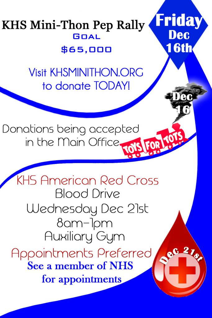 redcross, mini-thon, toys for tots