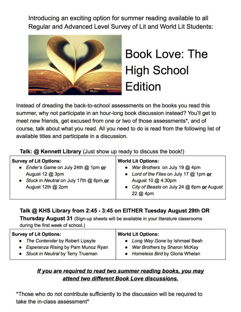Book Love Advertisements