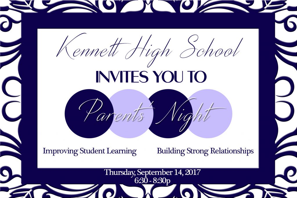 Parents' Night Flyer