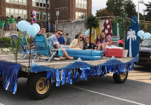 Sophomore Class Float