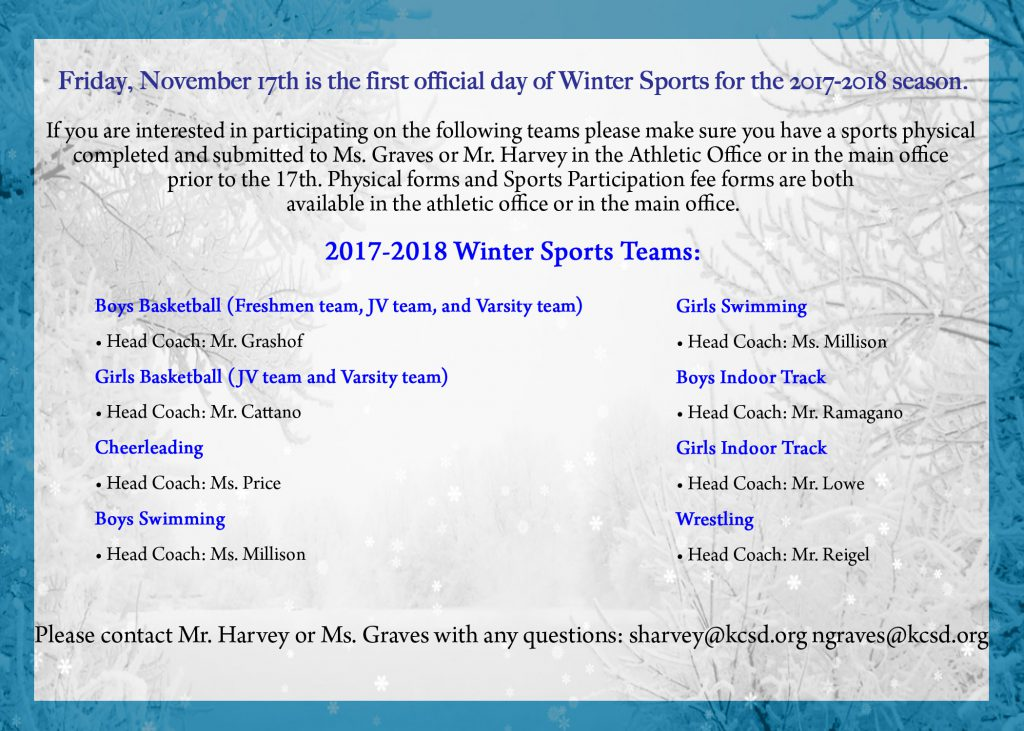 Winter Sports Coaches