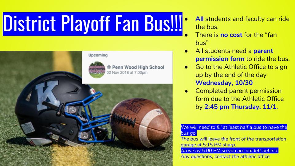 Fan bus graphic