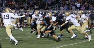 Kennett High Football action shot