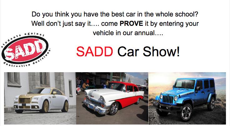 SADD Car Show
