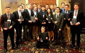 FBLA 2019 KHS attendees