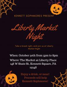 Market Night Fundraiser Flyer